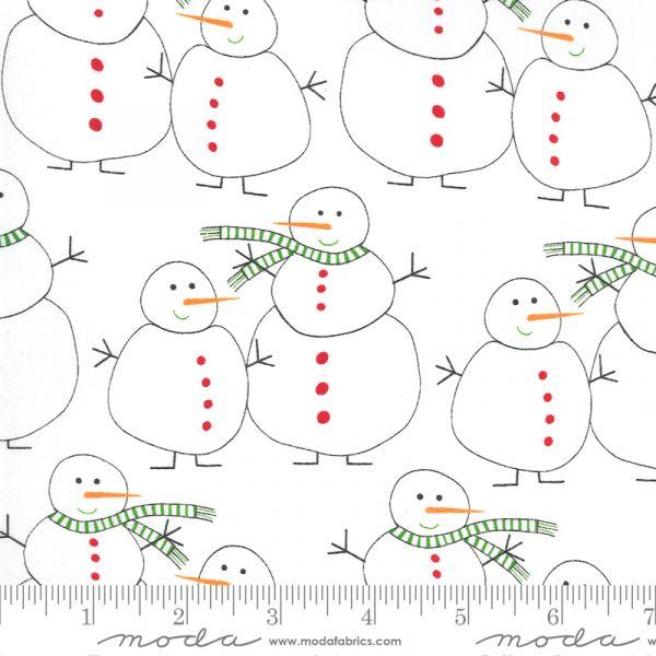 Merry and bright snowmen