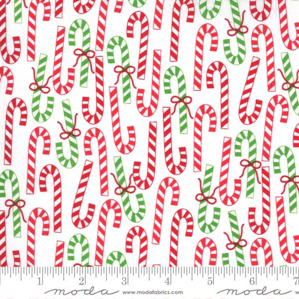 Merry and bright candy cane