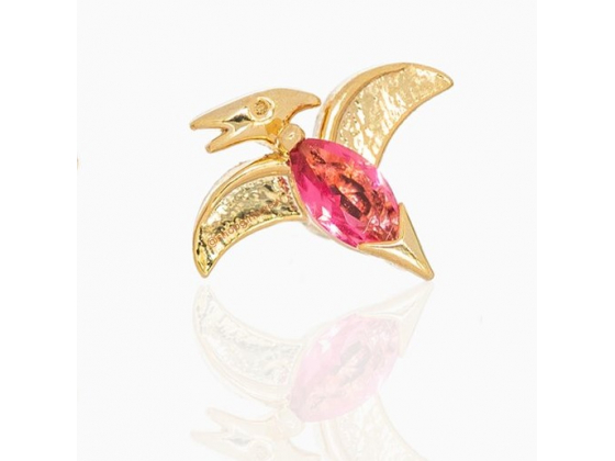 Pink Dino - Ørepynt