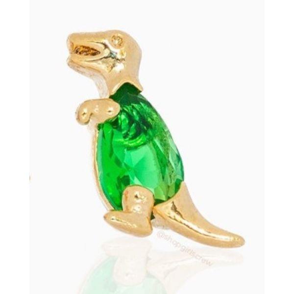 Green Dino - Ørepynt