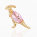Light Pink Dino - Ørepynt