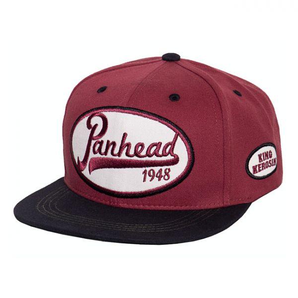 KING KEROSIN PANHEAD CAP RED/BLACK