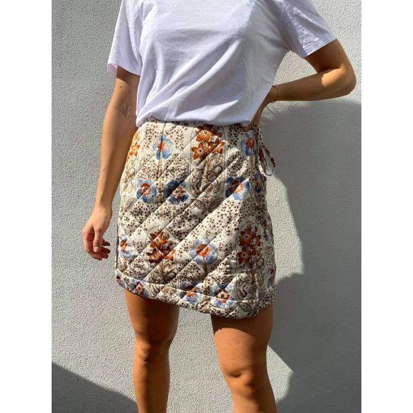 Autumn Drape Skirt - VintageWallpaper
