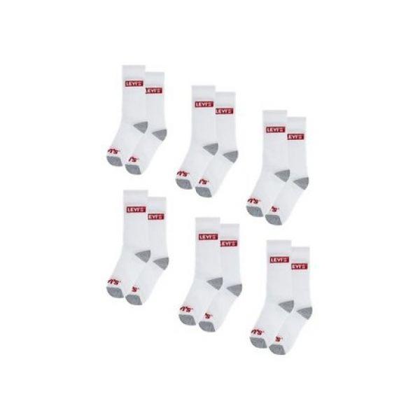 Levi's 6-pk regular cut sock