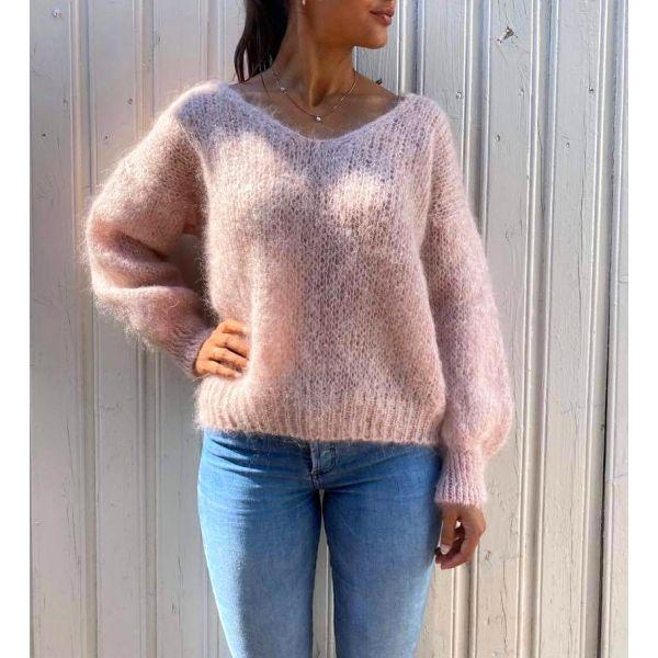 Melina Mohair Knit - Light Pink