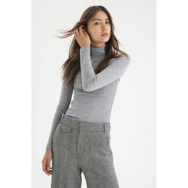 Fang Rollneck grey