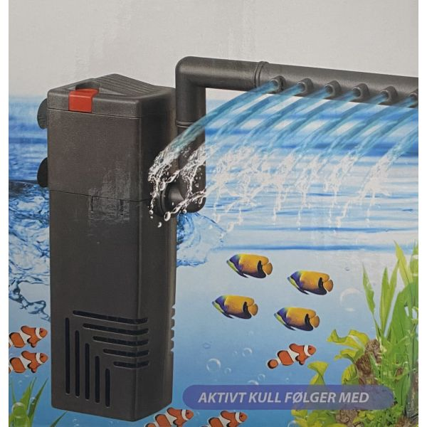 Zoorud 600l/t innvendig filterpumpe