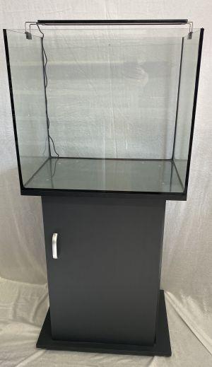Zoorud 130L Akvarium med møbel og ledlys