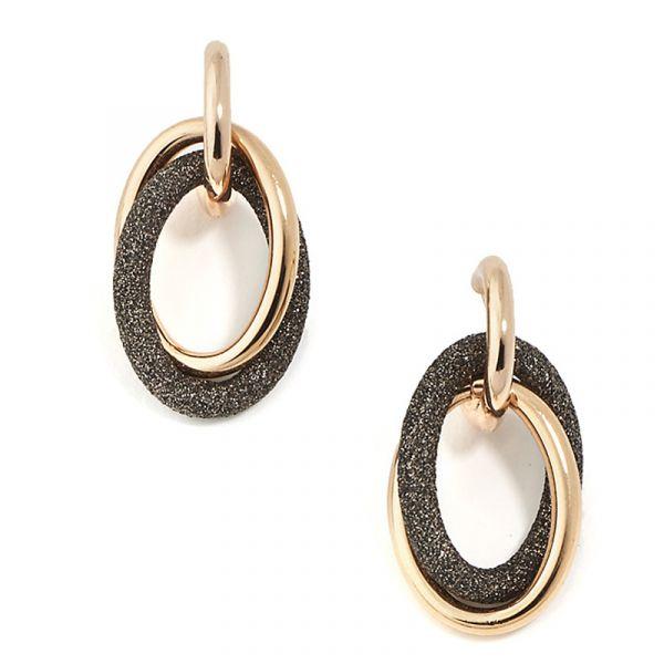 Polvere di Sogni - Brown earrings