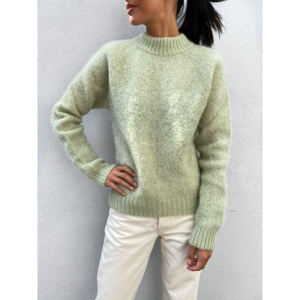 Monty Sweater - Lint Green