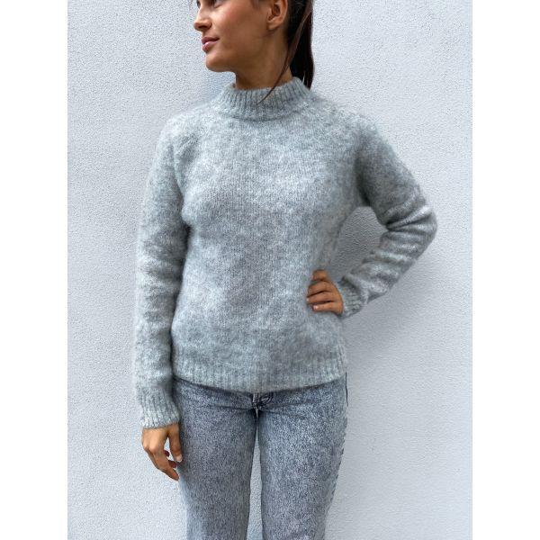 Monty Sweater - Flint Grey