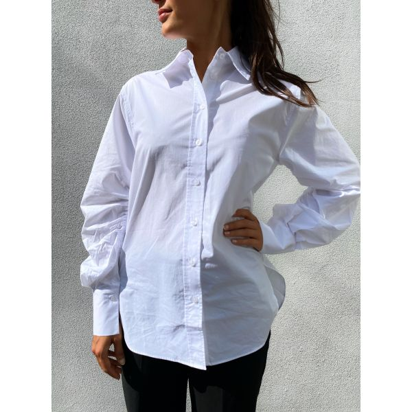 Phoebe Detail Shirt - White