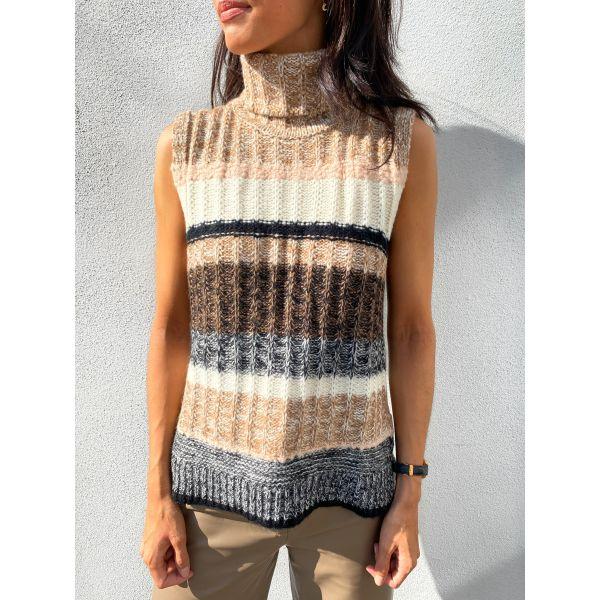 Ahlam Knit Vest - Lark