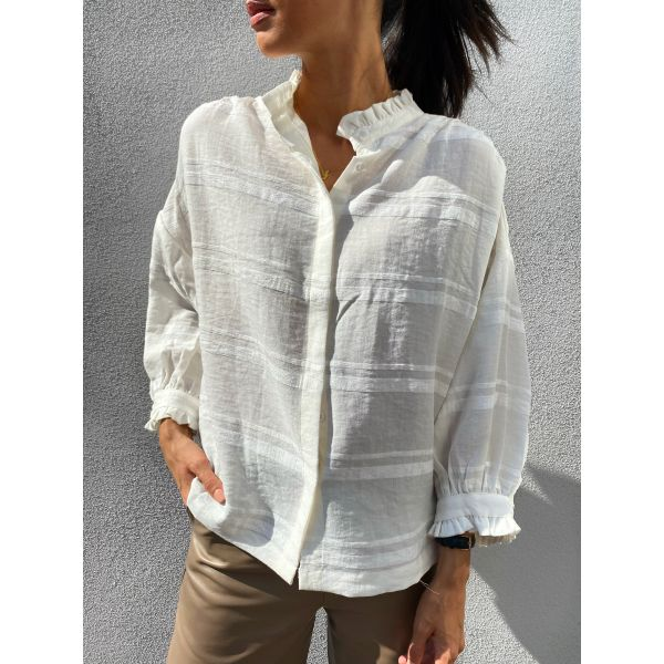 Villem Shirt - White