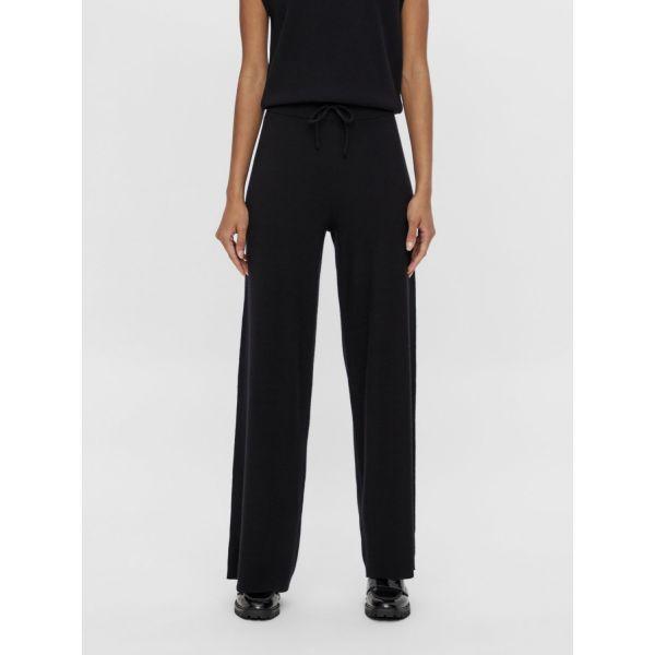 OBJDEVOE knit pants black