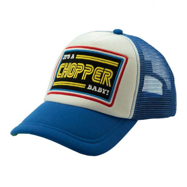 13 1/2 IACB TRUCKER CAP BLUE