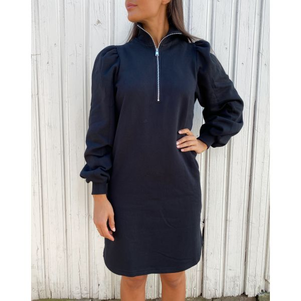 Nankita zipper dress - black