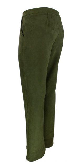 Bohéme Bukser - Olivenfarget