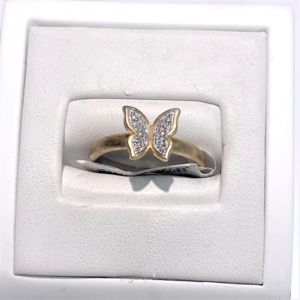 Signatur - Sommerfugl sølvring