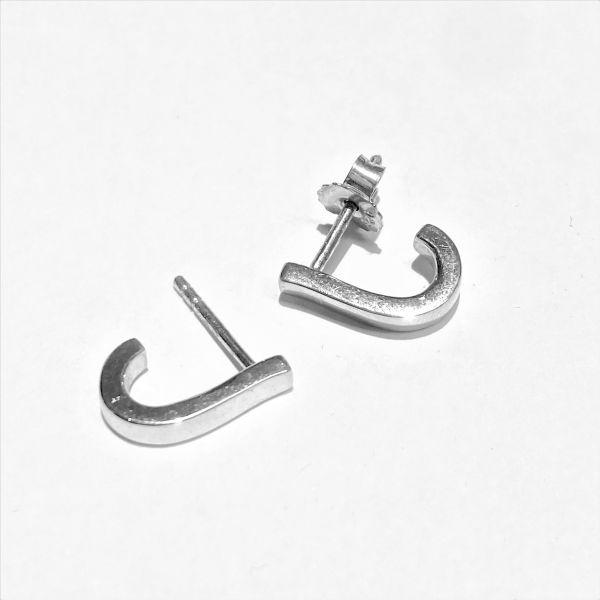 1370 - Sølv øreringer