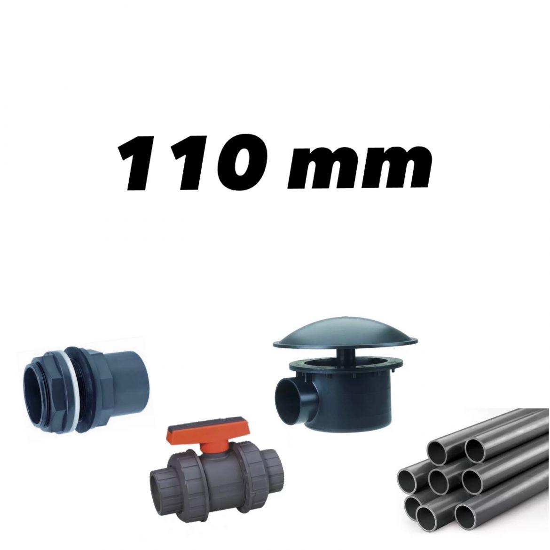 110mm rørdeler