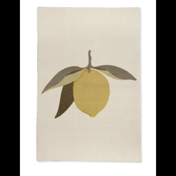 Gulvmatte Lemon - konges sløjd