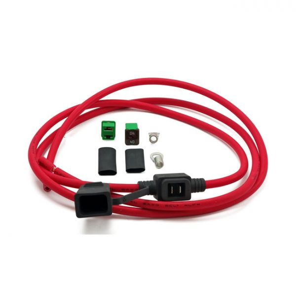 MOTOGADGET, MO.UNIT BATTERY CABLE WITH 40A FUSE