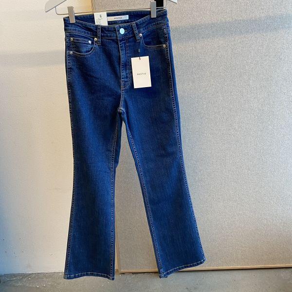 Emilinda Flared Cropped Jeans