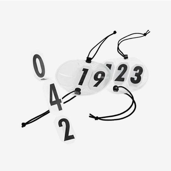 Nummerskilt til hodelag 3 siffer