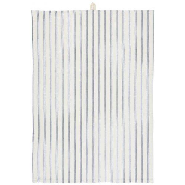 Kjøkkenhåndklede  m7 blå striper
