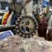 Håndlaget liten sølje - Oksidert sølv