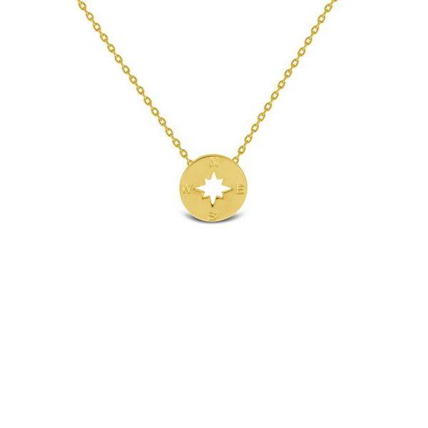 Gullbelagt stjerne anheng