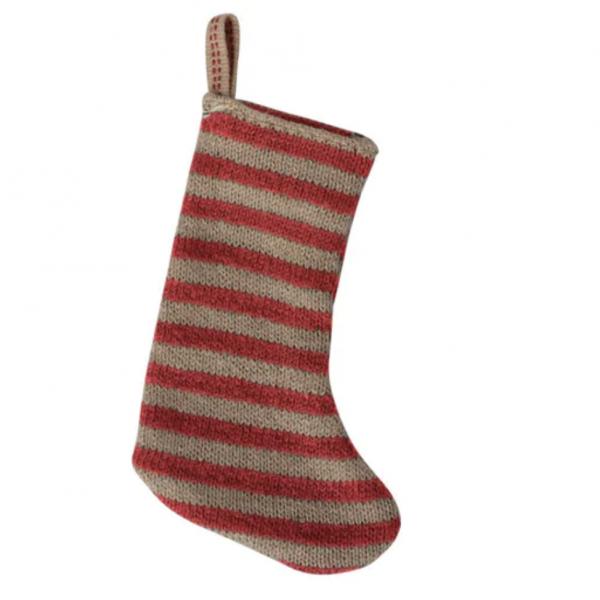 Maileg julestrømpe, mini (passer inni Gingerbread house), rød