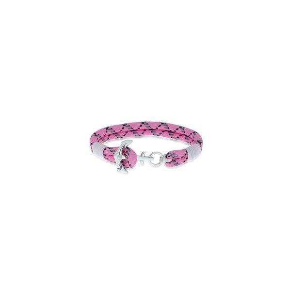 Design - Gulldia armbånd rosa/ hvit