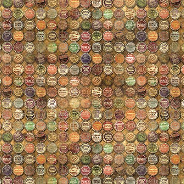 Tim Holtz bottle caps