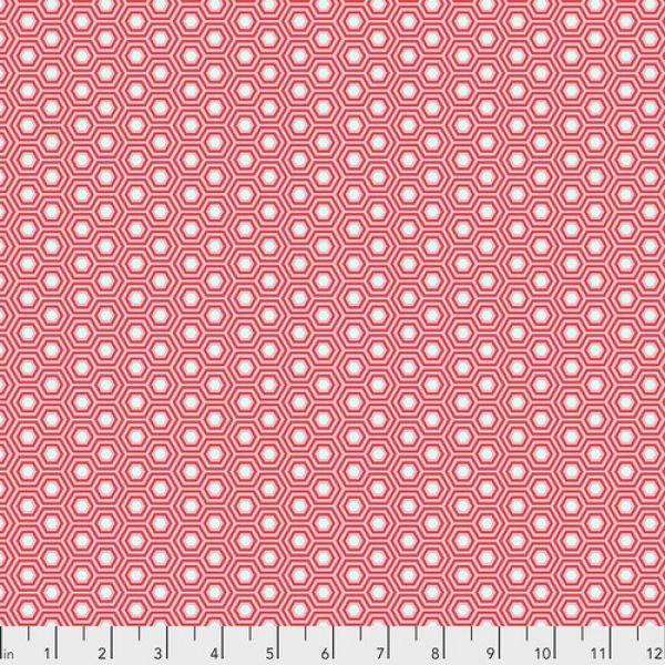 Tula Pink hexy pink