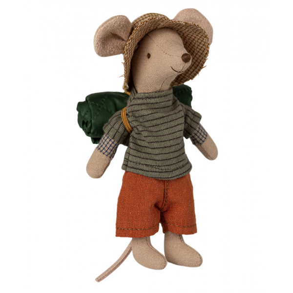 Maileg - Boy Hiking Mouse