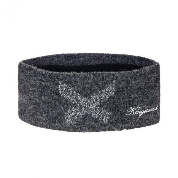 Kingsland Thetis strikket pannebånd- grå