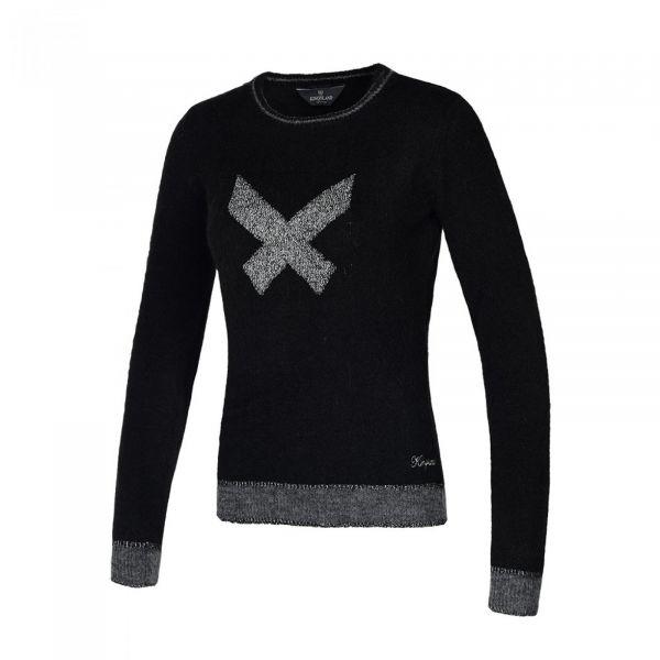 Kingsland tamia strikket genser- svart
