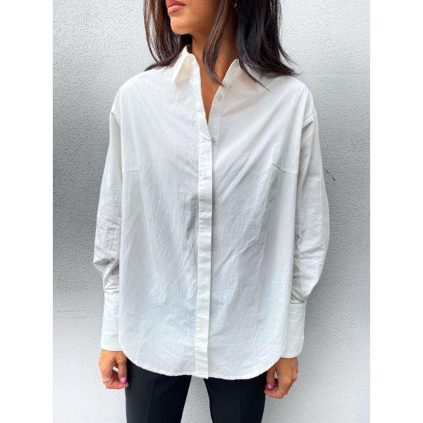 Hilda Oversize Shirt - Star White