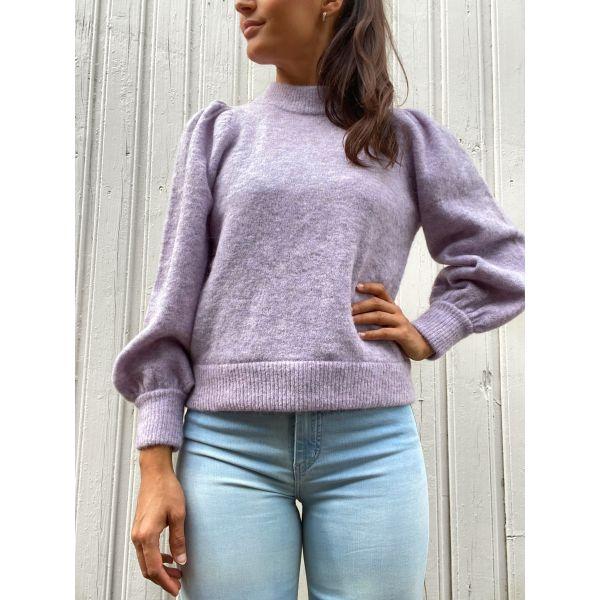 Alpha pullover - pastel lilac