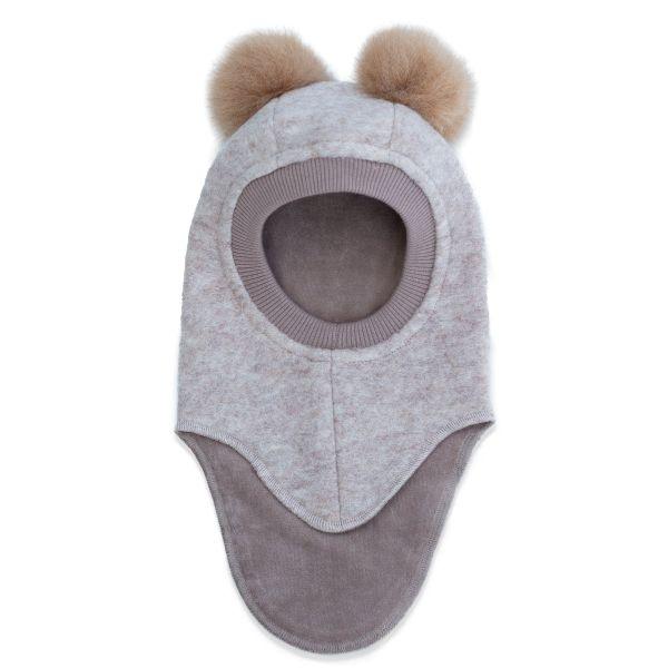 HUTTELIHUT - BIG BEAR ELEFANTHUT WOOL CAMEL/CAMEL