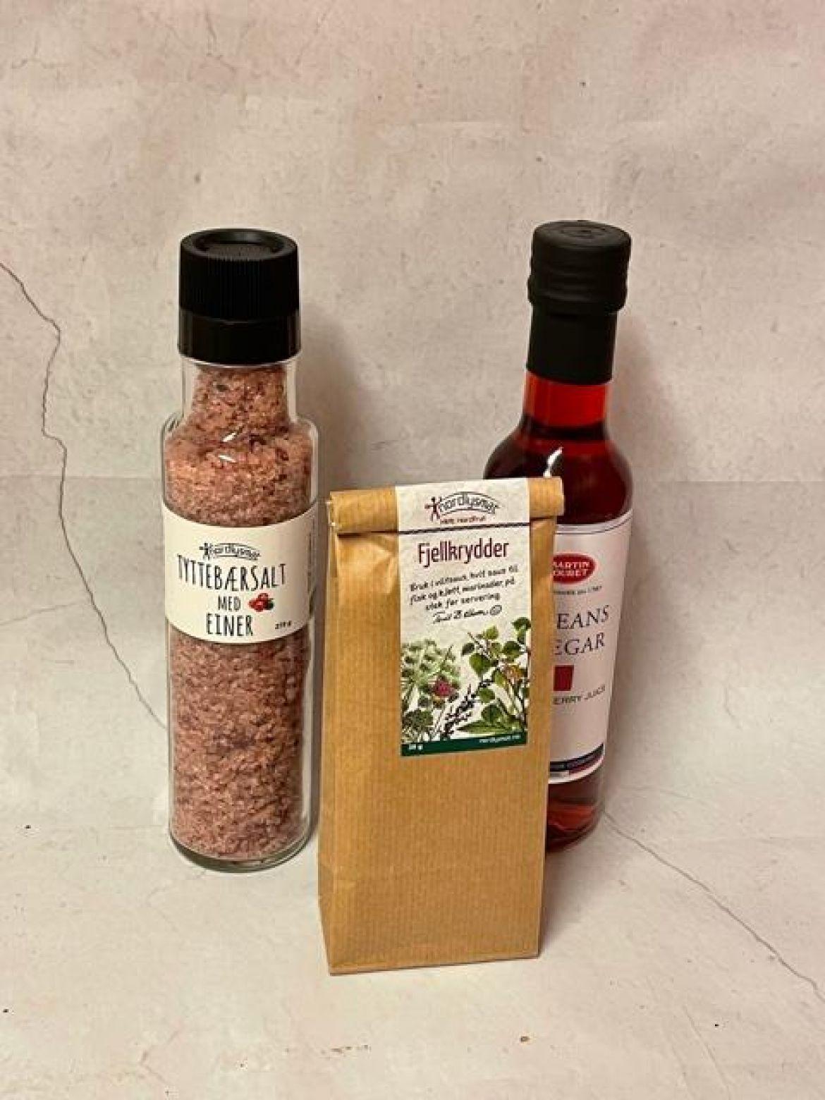 Krydder, salt og oljer