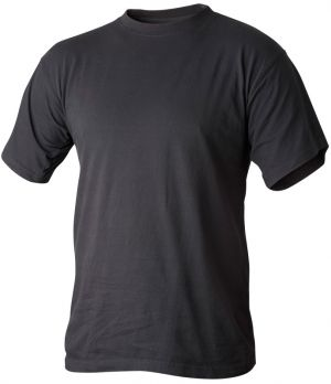 T-Shirt bomull svart