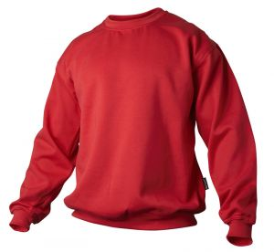 Sweatshirt rød