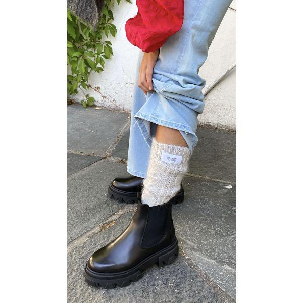 Odda Socks - Light Grey