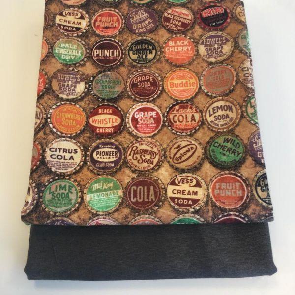 Tim Holtz bottle caps stoffpakke
