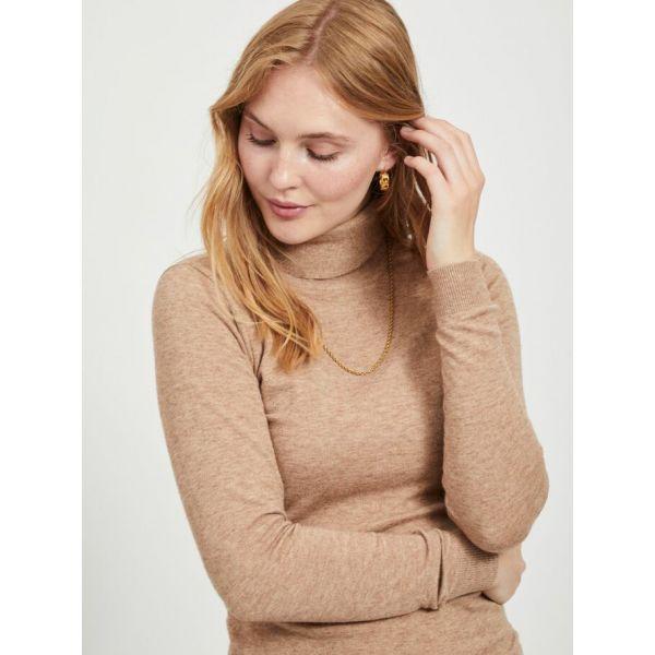 OBJTHESS chipmunk rollneck pullover