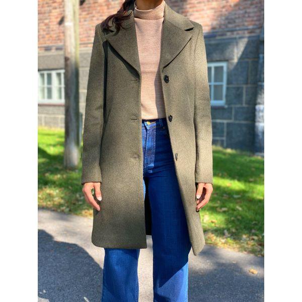 New Sasja Wool Coat - Tarmac