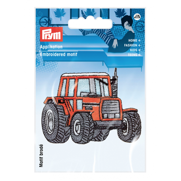 Strykemerke - Traktor Rød